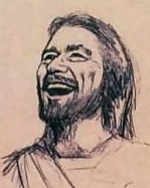 Jesus_laughing_unknown_1